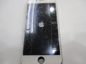 iPhone6s,画面割れ修理,寝屋川市,香里園,枚方市,割れた画面