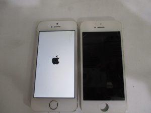 iPhone5sフロントガラス割れ修理