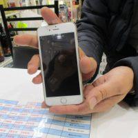 iPhone5sのフロントガラス割れ修理