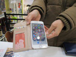 iPhone6のフロントガラス割れ修理