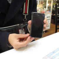 iPhone5cのフロントガラス修理