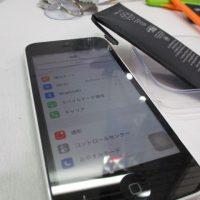 膨張iPhone修理