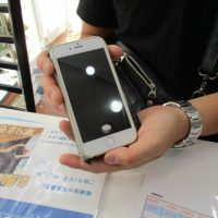 iPhone6sのフロントガラス割れ修理