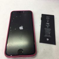 アイフォン5cのバッテリー交換