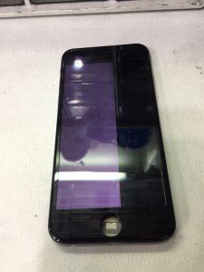 iPhone6の画面が半分映らない