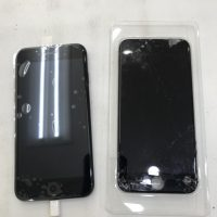 iPhone7画面ガラス割れ修理